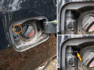 Problème ouverture trappe essence BMW E60 - Tutovoiture