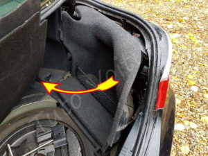 Accés Trappe essence BMW E60