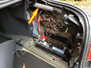 Problème trappe à essence - BMW E60 - Tutovoiture
