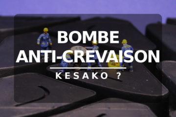 Comment utiliser une bombe anti-crevaison
