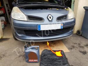 Cache moteur Renault Clio 3