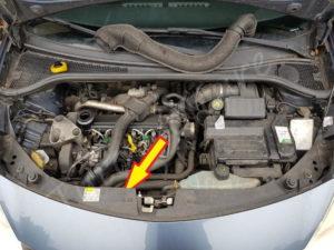 Ou se trouve le filtre à huile Renault Clio 3