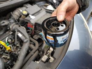 Remplacer filtre à huile Renault Clio 3