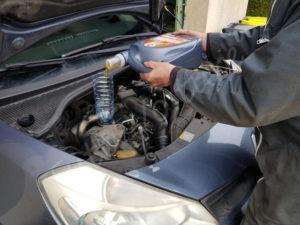 Mettre à niveau l'huile Renault Clio 3