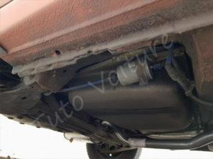 Emplacement du filtre à essence - Opel Corsa