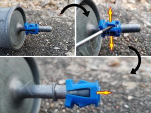 Débrancher le filtre à essence - Opel Corsa