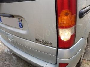 Problème feu de recul - Renault Kangoo