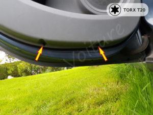Sortir panneau portière arrière - Clio 3
