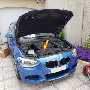 Trouver le filtre a air BMW Série 1