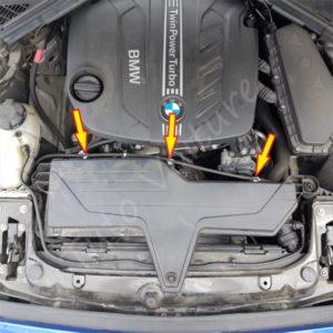 remplacement du filtre a air BMW Série 1