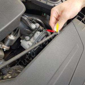 Ou se trouve le filtre a air BMW Série 1