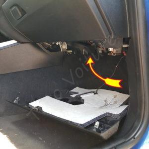 Accéder au filtre cabine bmw serie 1 F21
