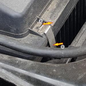 Attache filtre a air BMW Série 1