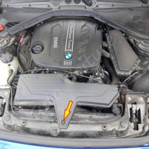 Remplacement filtre a air BMW Série 1