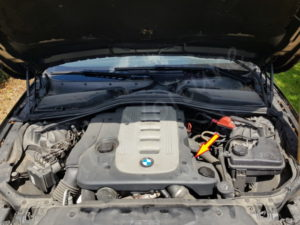 Emplacement filtre a huile bmw serie 5