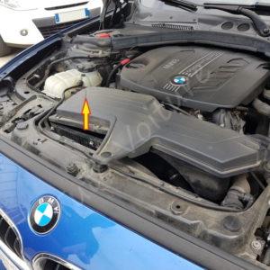 Retirer le filtre a air BMW Série 1