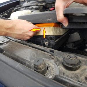 Changer le filtre a air BMW Série 1