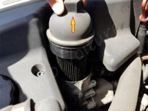 Changer filtre a huile serie 5 E60