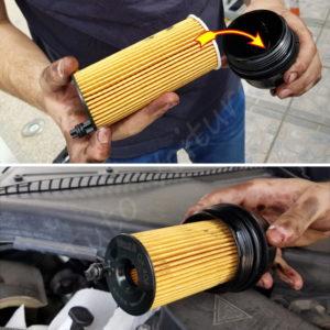 Changer la cartouche du filtre a huile