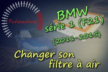 Changer son filtre a air - BMW Série 1