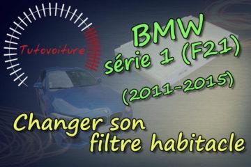 Changer son filtre a habitacle - BMW Série 1