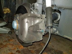 changementplaquettes de frein avant mercedes classe A