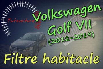 filtre habitacle golf 7
