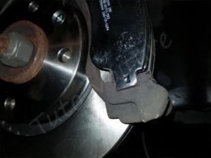 remplacer plaquettes de frein avant 207