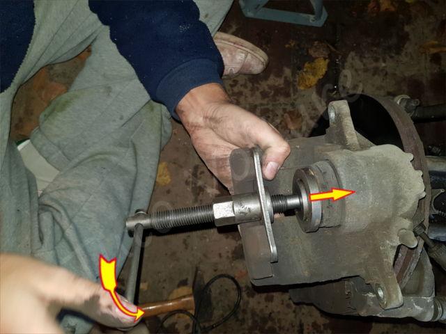 Utiliser un repousse piston