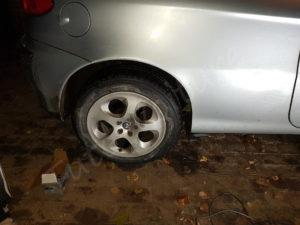 comment changer plaquette de frein arrière alfa 147