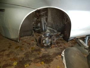 changement plaquette de frein arrière alfa romeo 147