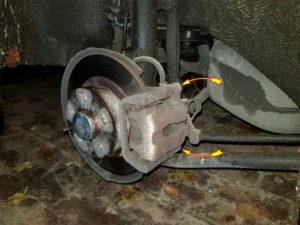 remplacement plaquette de frein arrière alfa romeo 147