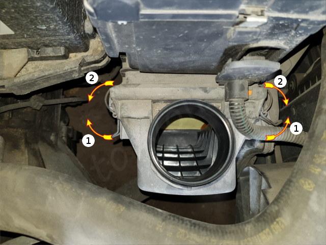 comment rempalacer filtre a air alfa 147