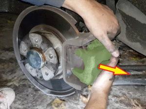 comment remplacer plaquette de frein arrière alfa 147