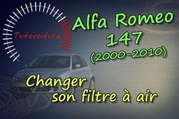 Changer son filtre à air alfa 147