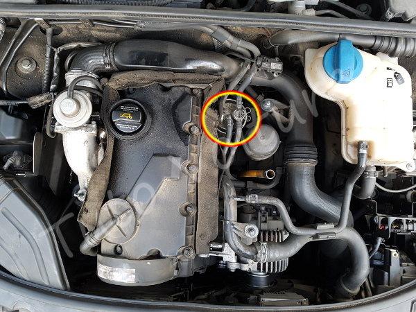filtre a carburant audi a4 b6