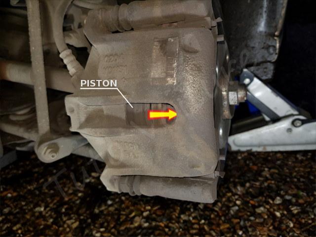 ouvrir étrier de frein Citroën DS3