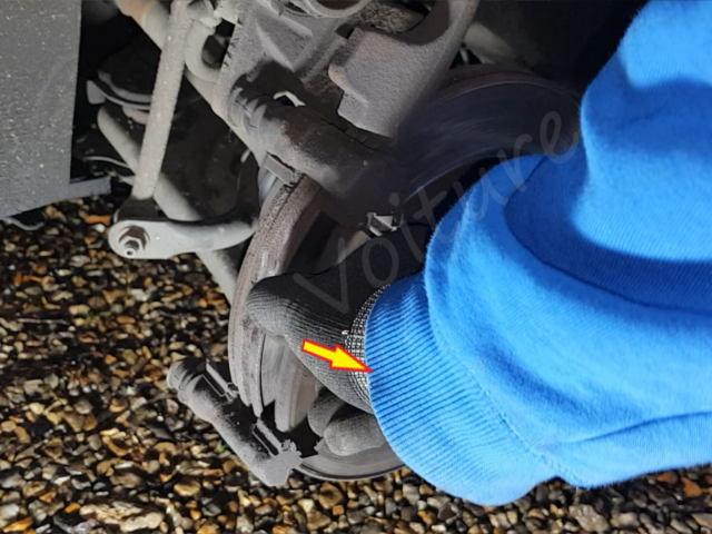 changement plaquette de frein Citroën DS3