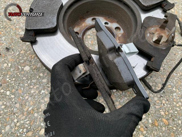 plaquettes de frein usées bmw 3 F30