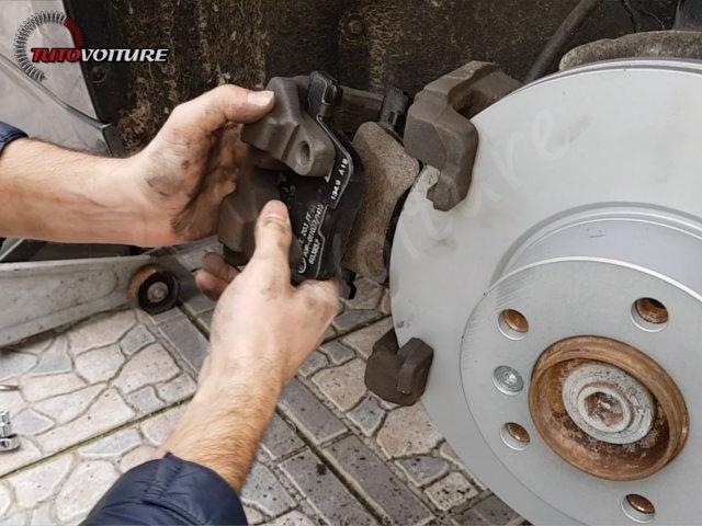 Changement plaquettes de frein BMW 3 F30