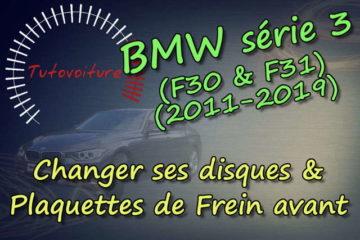 Tuto : disques et plaquettes de frein avant bmw F30