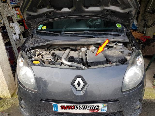 Comment changer le filtre à air - Renault Twingo