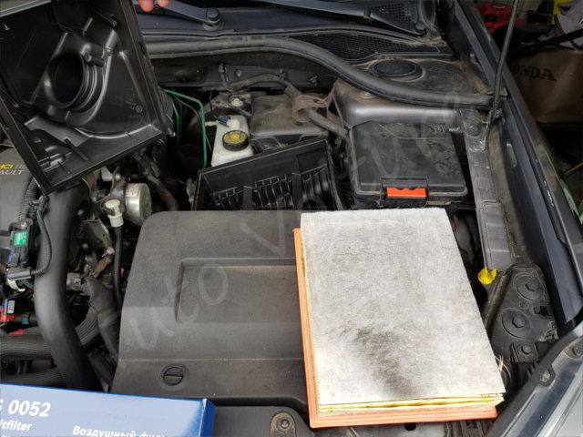 Changer son filtre à air Renault Laguna