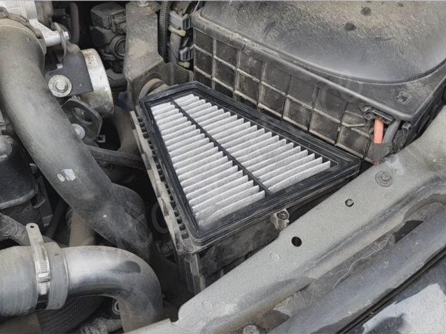 Emplacement filtre à air - Renault Twingo