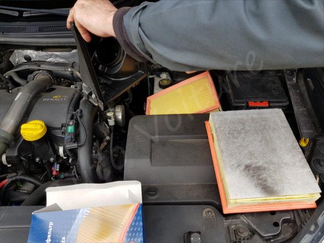 Changement le filtre à air - Renault Laguna 2