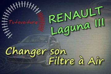 Changer son filtre à air - renault Laguna