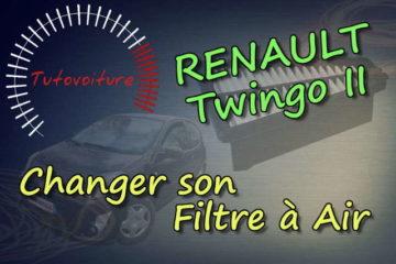 Remplacer son filtre à air Renault Twingo