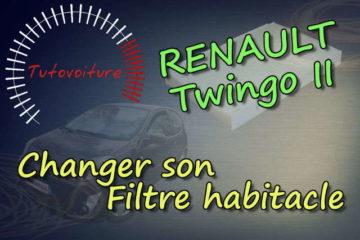 comment changer son filtre a cabine renault twingo