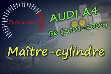 Remplacer son maitre cylindre audi A4