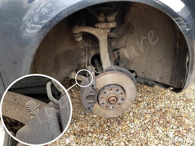 Capuchon de la vis de frein audi A4 B6